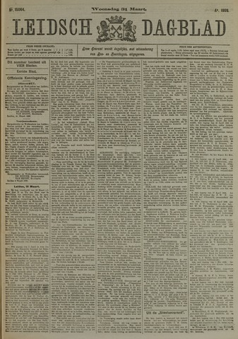 Leidsch Dagblad 1909-03-31