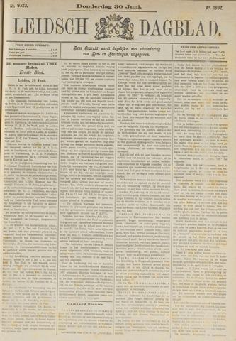 Leidsch Dagblad 1892-06-30