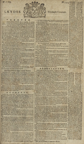 Leydse Courant 1765-09-20