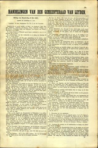Handelingen van de Raad 1867-05-09