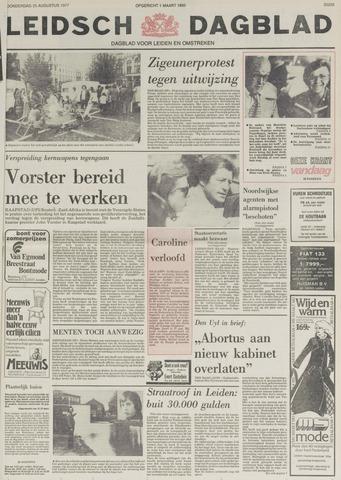 Leidsch Dagblad 1977-08-25