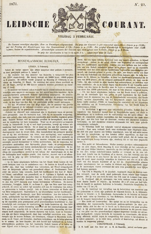 Leydse Courant 1871-02-03