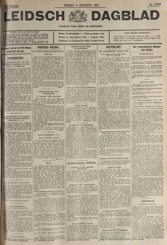 Leidsch Dagblad 1933-08-04