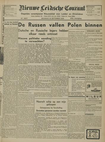 Nieuwe Leidsche Courant 1939-09-18