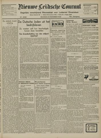 Nieuwe Leidsche Courant 1938-11-14