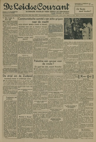Leidse Courant 1948-02-25