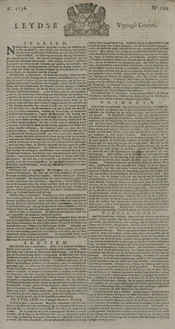 Leydse Courant 1736-10-05