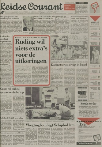 Leidse Courant 1989-07-06