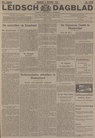 Leidsch Dagblad 1940-12-09