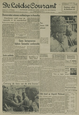 Leidse Courant 1958-11-05