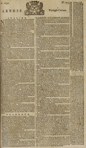 Leydse Courant 1751-08-27