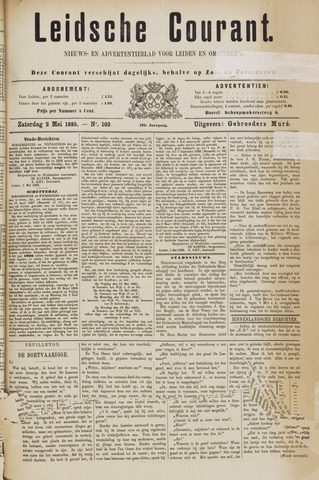 Leydse Courant 1885-05-02