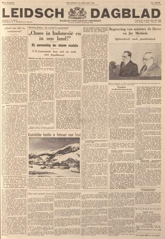Leidsch Dagblad 1949-01-24