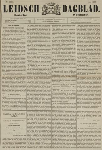 Leidsch Dagblad 1869-09-09