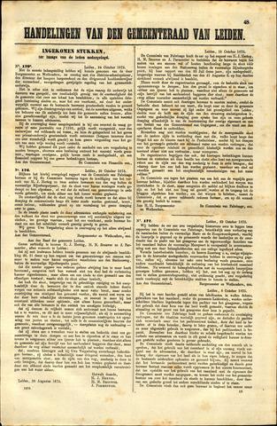 Handelingen van de Raad 1873-10-24