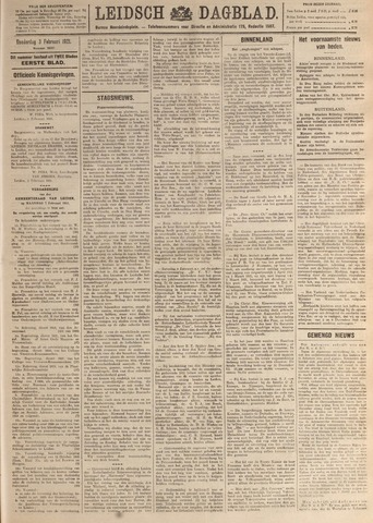 Leidsch Dagblad 1921-02-03