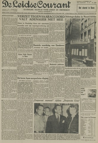 Leidse Courant 1954-11-09