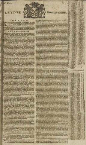 Leydse Courant 1772-01-27