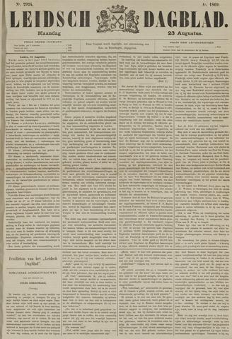 Leidsch Dagblad 1869-08-23