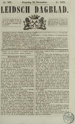 Leidsch Dagblad 1861-12-24