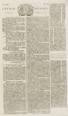 Leydse Courant 1820-07-21