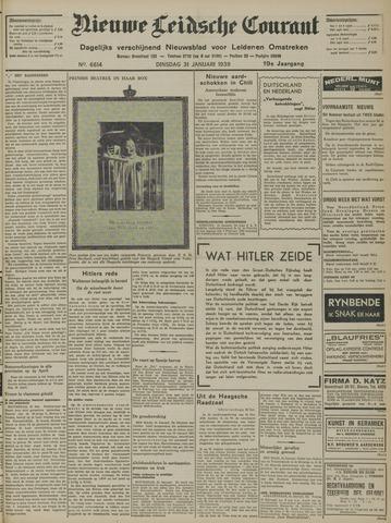 Nieuwe Leidsche Courant 1939-01-31