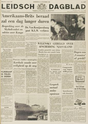 Leidsch Dagblad 1962-12-20