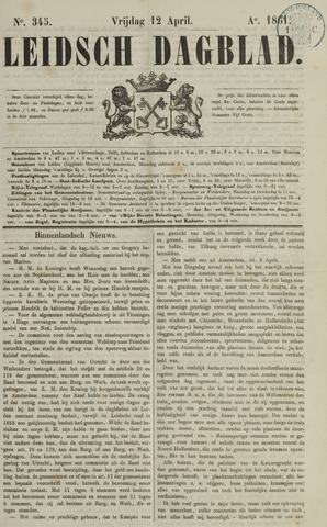 Leidsch Dagblad 1861-04-12