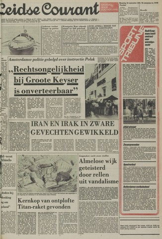 Leidse Courant 1980-09-22