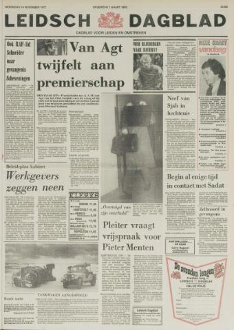 Leidsch Dagblad 1977-11-16
