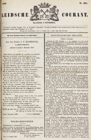 Leydse Courant 1882-11-06