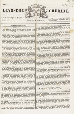 Leydse Courant 1865-08-07