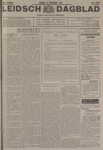 Leidsch Dagblad 1938-11-25