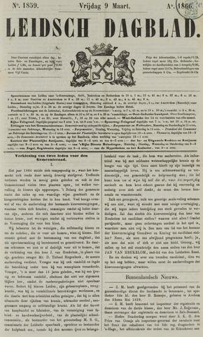 Leidsch Dagblad 1866-03-09