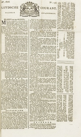 Leydse Courant 1826-11-13