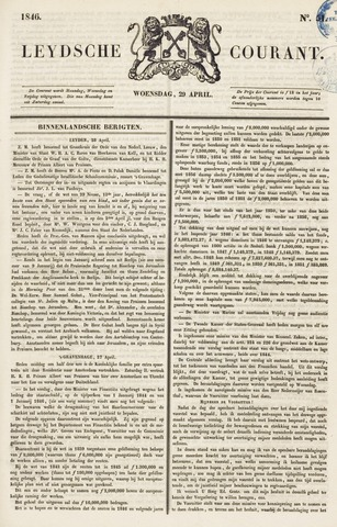 Leydse Courant 1846-04-29
