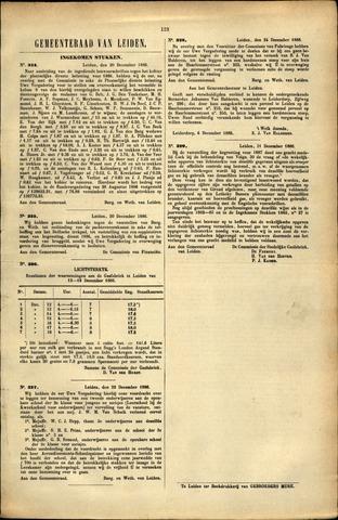 Handelingen van de Raad 1886-12-20