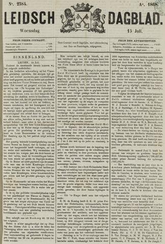 Leidsch Dagblad 1868-07-15