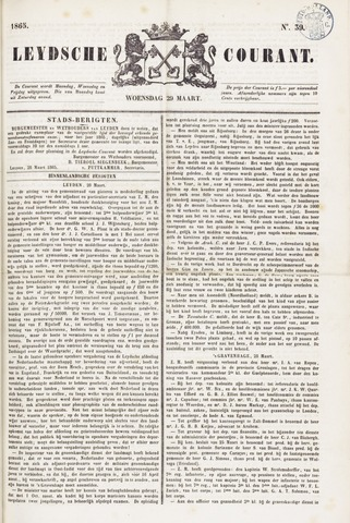 Leydse Courant 1865-03-29
