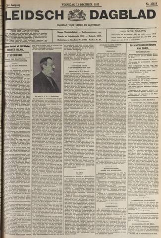 Leidsch Dagblad 1933-12-13