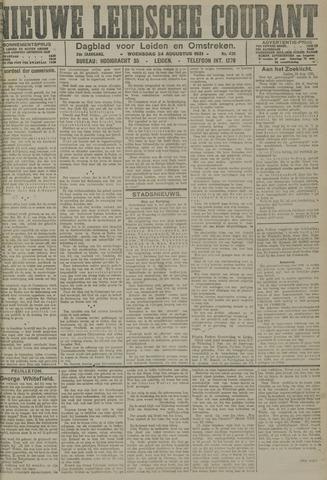 Nieuwe Leidsche Courant 1921-08-24