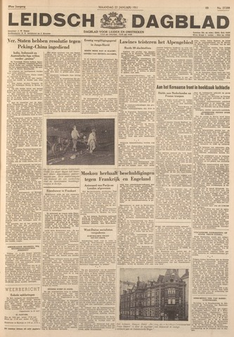 Leidsch Dagblad 1951-01-22