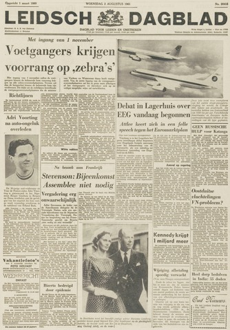 Leidsch Dagblad 1961-08-02