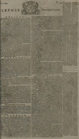 Leydse Courant 1743-11-20