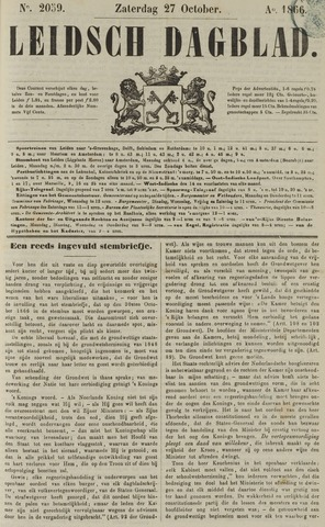 Leidsch Dagblad 1866-10-27