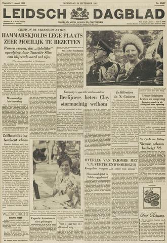 Leidsch Dagblad 1961-09-20