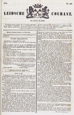 Leydse Courant 1876-06-12