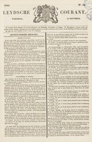 Leydse Courant 1844-11-13