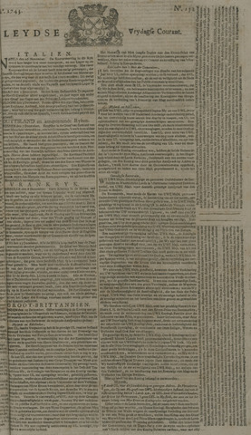 Leydse Courant 1743-12-20