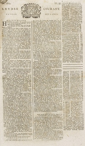 Leydse Courant 1814-04-22
